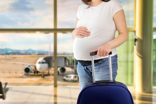 Tehotenstvo a cestovanie lietadlom