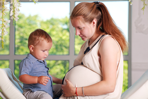 Dve deti krátko po sebe - tehotenstvo