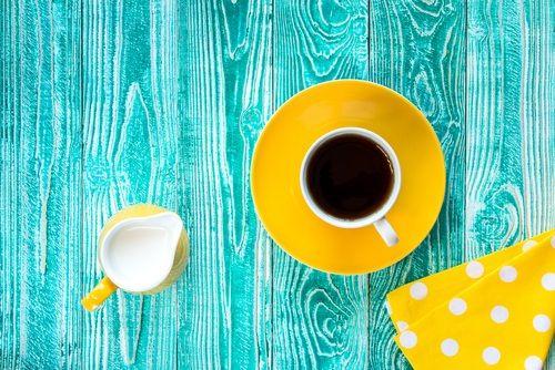 Tehotenstvo, leto a káva