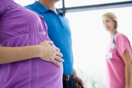 Príchod - príjem do pôrodnice