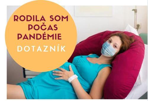 Sprievodca pôrodnicami 2020: pôrody počas pandémie