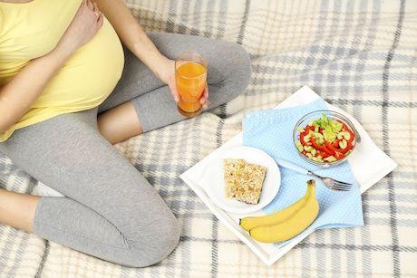Dbaj o svoju výživu v tehotenstve