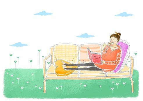 Pôrod na gauči