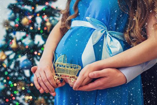 Vianoce sú ideálne obdobie, kedy otehotnieť