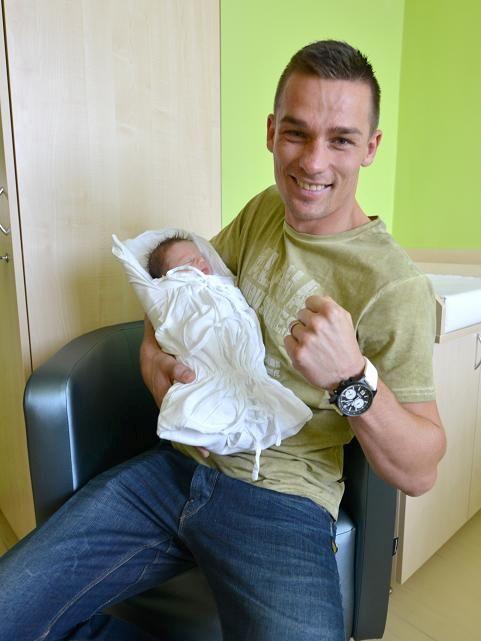 Pôrodnica Banská Bystrica: Svetový šampión v thai-boxe Vladimír Moravčík sa stal otcom